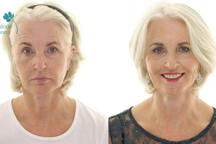 Тональный крем — важный элемент макияжа Источник: pinimg.com