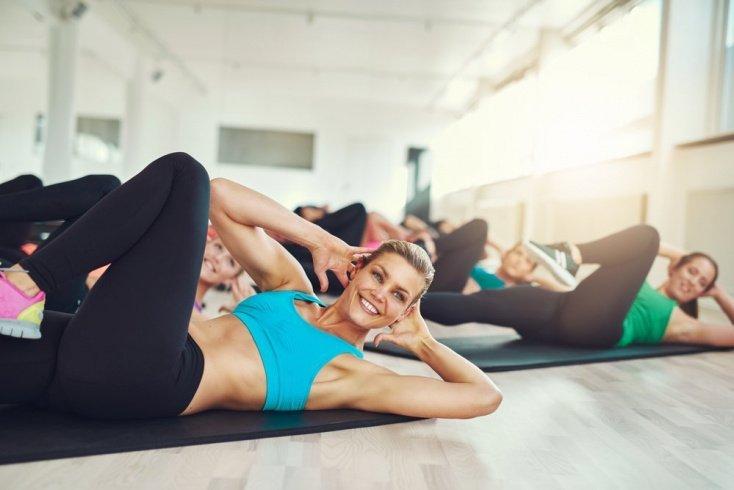 Фитнес-упражнения для брюшного пресса