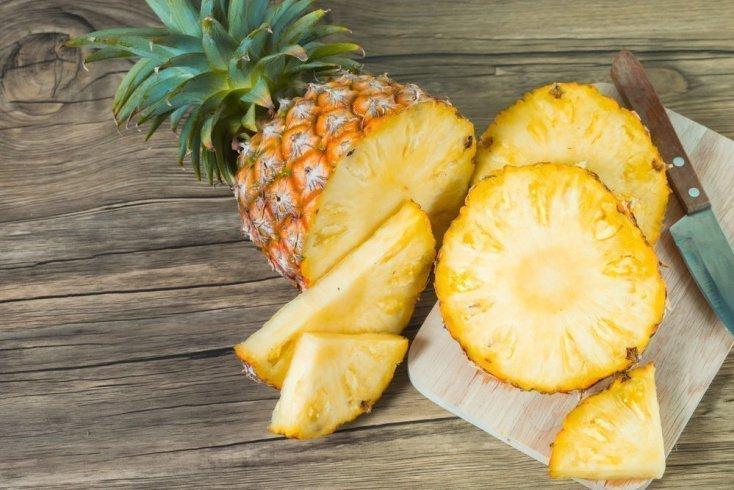 Сушеные экзотические фрукты: чипсы из ананаса