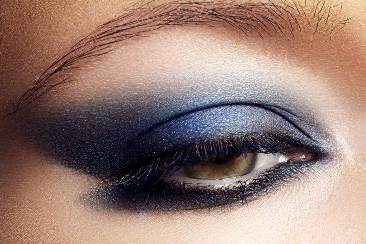 Насыщенно-синие оттенки