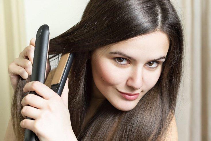 Завивка волос термоприборами: плойка, утюжок