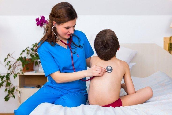 Пневмония у детей при гриппе