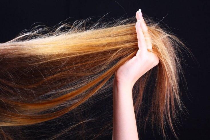 Неровный оттенок на волосах