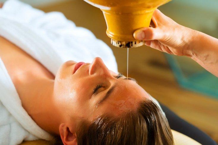 Ароматический массаж головы: правила для красоты