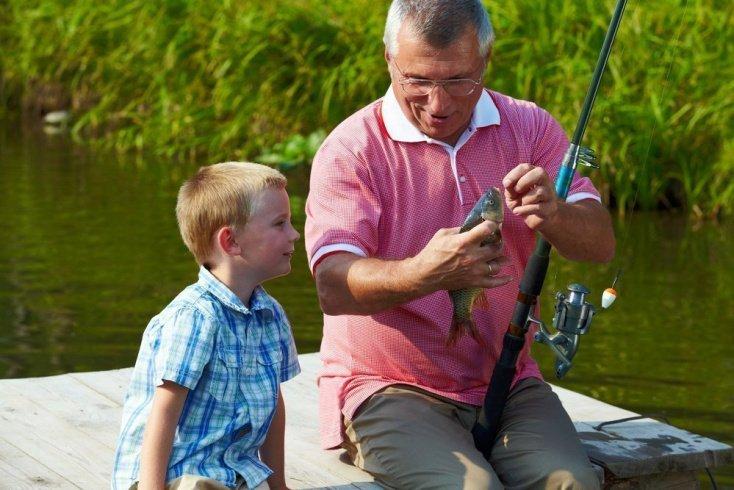 Рыбалка — новое увлечение