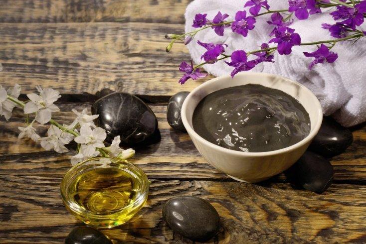 Черная глина для здоровья и красоты лица
