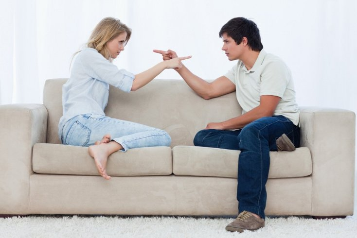 Негативные эмоции: склонность винить во всем возлюбленного