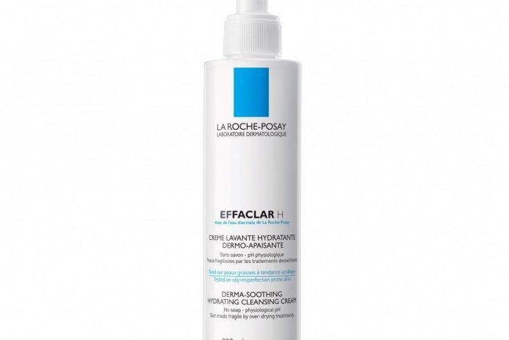 Очищающий крем-гель для проблемной кожи, пересушенной в результате медикаментозного лечения Effaclar H