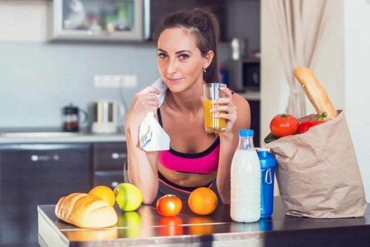 Фитнес-тренировки и правильное питание