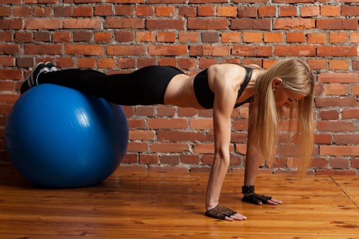 Занятие фитнесом на 8 минут