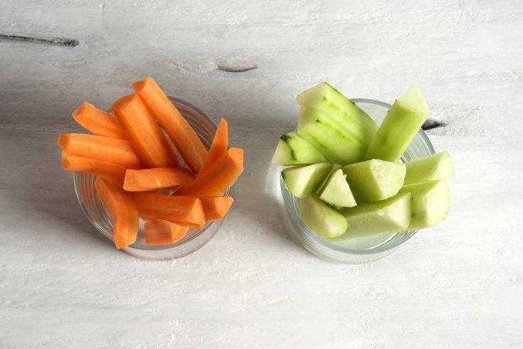 Рецепты морковно-огуречной закуски