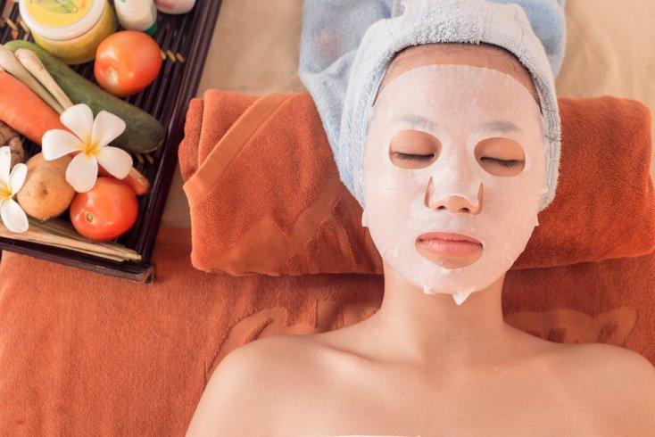 Разогревающая термо-маска для кожи лица