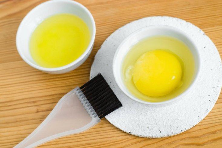 Яичная маска для здоровья волос