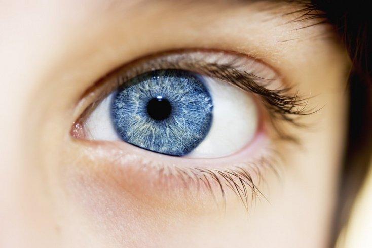 «Радуга» в глазах