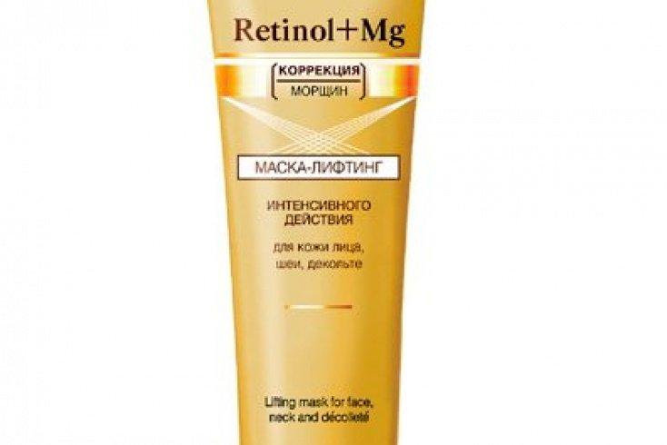 Маска-лифтинг интенсивного действия Retinol+Mg, Витэкс, 100 мл Источник: cosmeros.ru