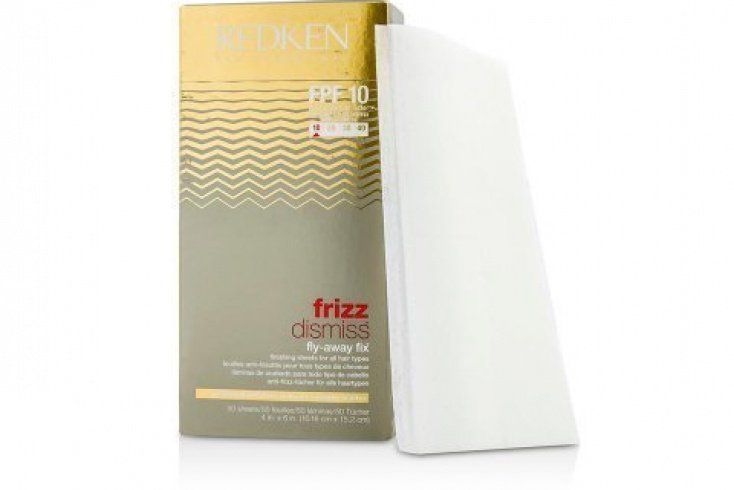 Салфетки Frizz Dismiss Fly-Away Fix, Redken Источник: cosmostore.org