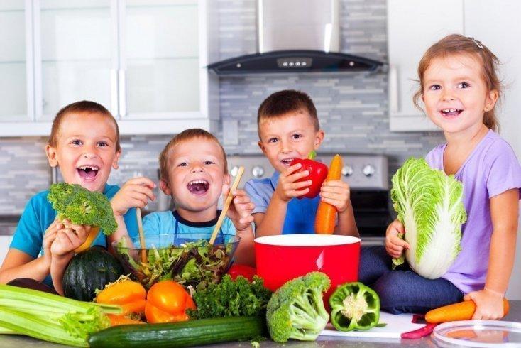 Зелень в детском питании: польза для здоровья