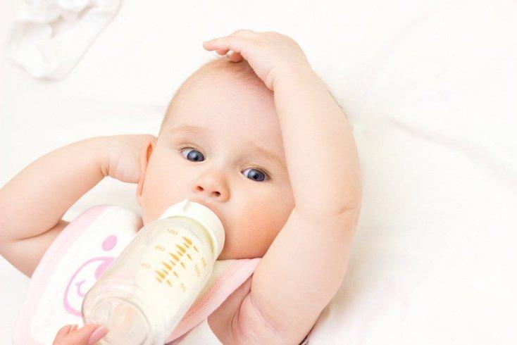 Самочувствие ребенка и его реакция на смесь