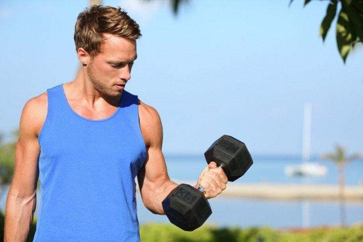 Фитнес-упражнения с отягощениями