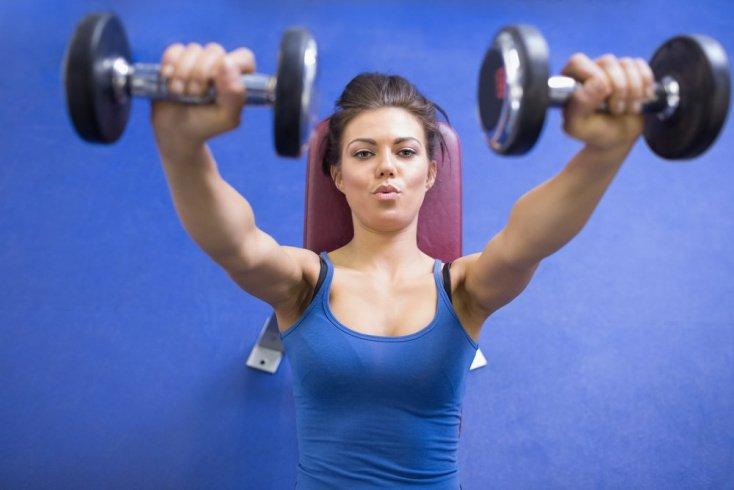 Комплекс упражнений для развития бицепса