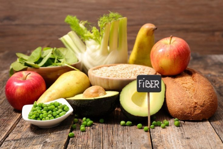 Пищевые волокна и холестерин