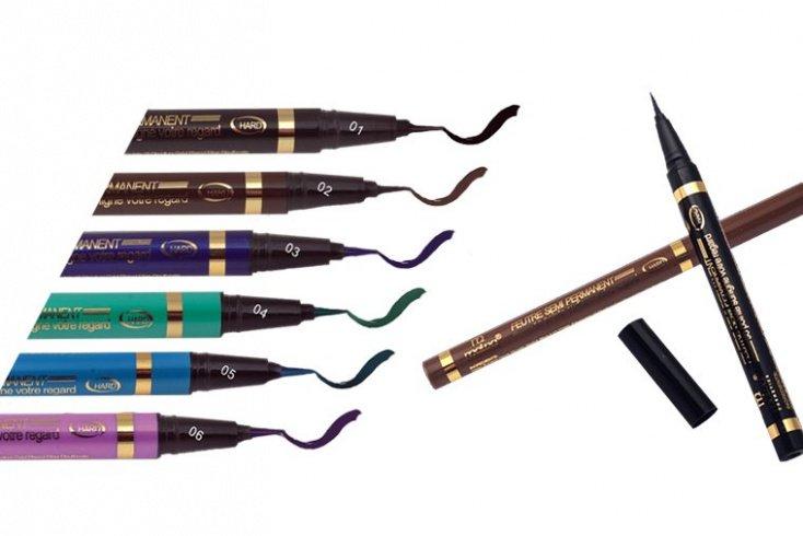Подводка-лайнер для глаз, Malva Cosmetics Super Skinny Eye Marker Источник: richhills.com.ua