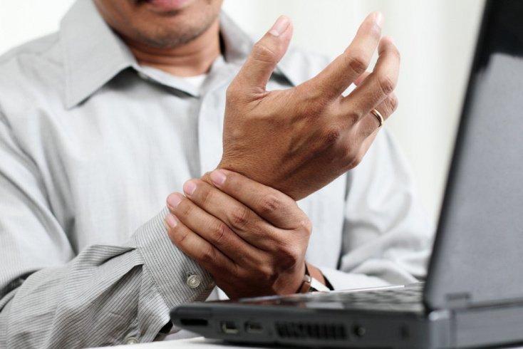 Зоны поражения при артрите: артрит рук