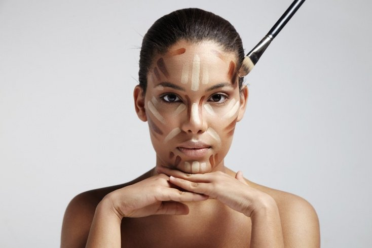 Как выполняется макияж в технике скульптурирования