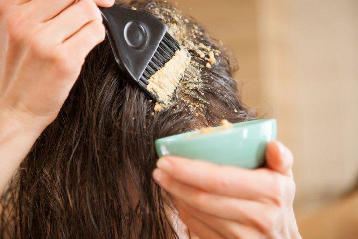 Маска для волос от выпадения с горчицей