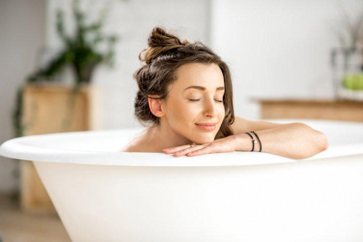 Теплая ванна поможет расслабиться