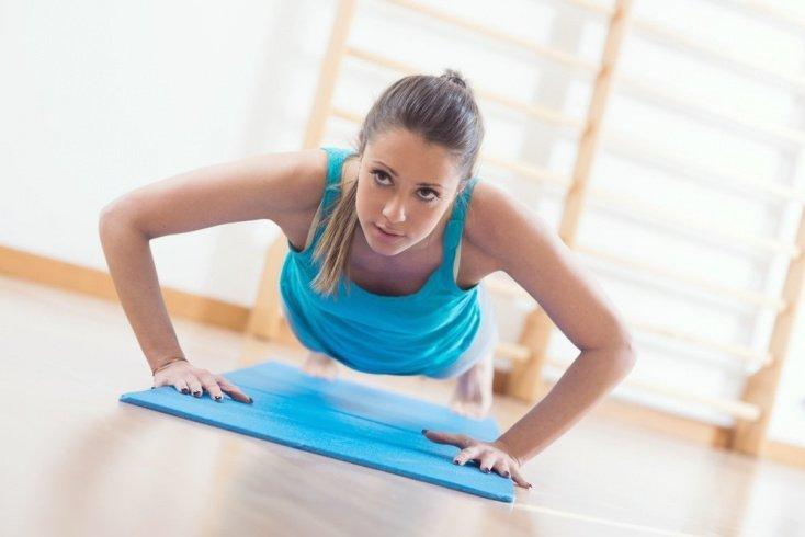 Основной комплекс упражнений для мышц рук