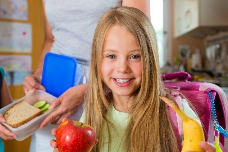 Правильный рацион питания ребенка школьника