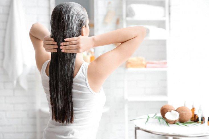 Маска для придания волосам объема