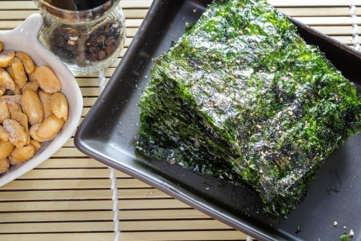 Витамины и минеральные вещества в составе морских водорослей