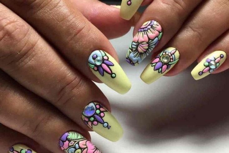 Техника маникюра sweet bloom Источник: slovami.net