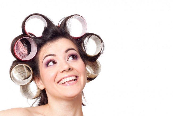Как накрутить длинные волосы на бигуди?