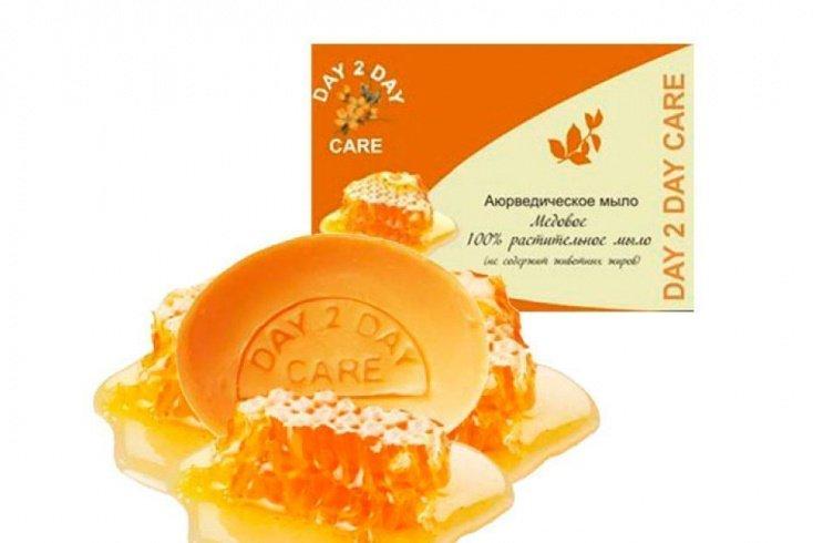 Аюрведическое растительное мыло Day 2 Day Care «Медовое»