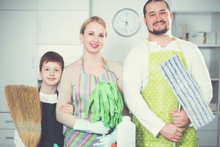 Участвовать в домашних делах