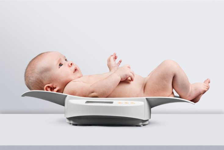 Проявления в раннем возрасте: динамика массы тела, развитие