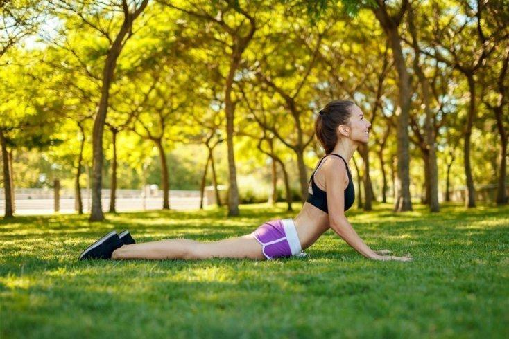 Фитнес-элемент для прогиба спины
