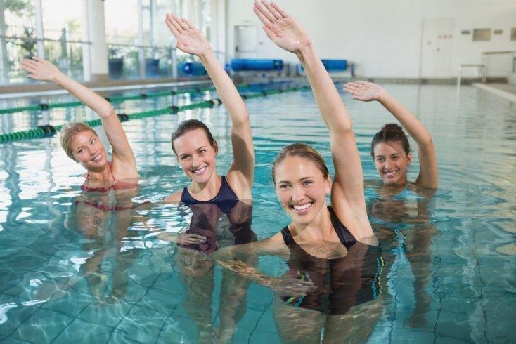 Методика проведения занятий для похудения в бассейне