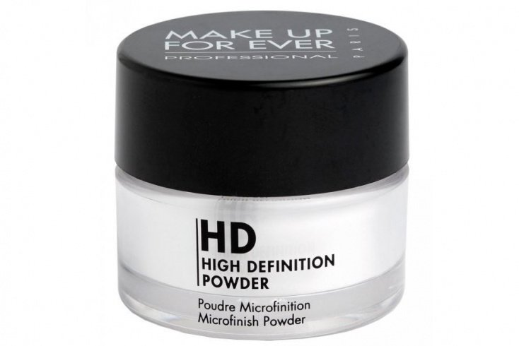 Минеральная пудра Make Up For Ever High Definition Powder, 8,5 г Источник: bridalguide.com