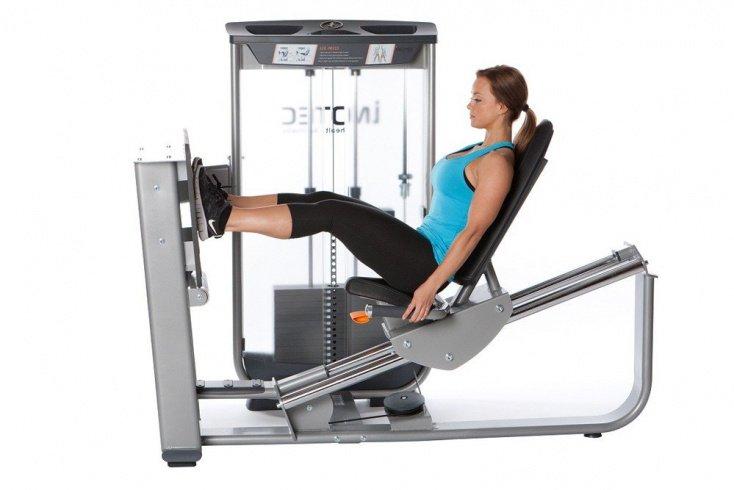 Тренажер для жима ногами лежа Источник: batimur-sport.ru