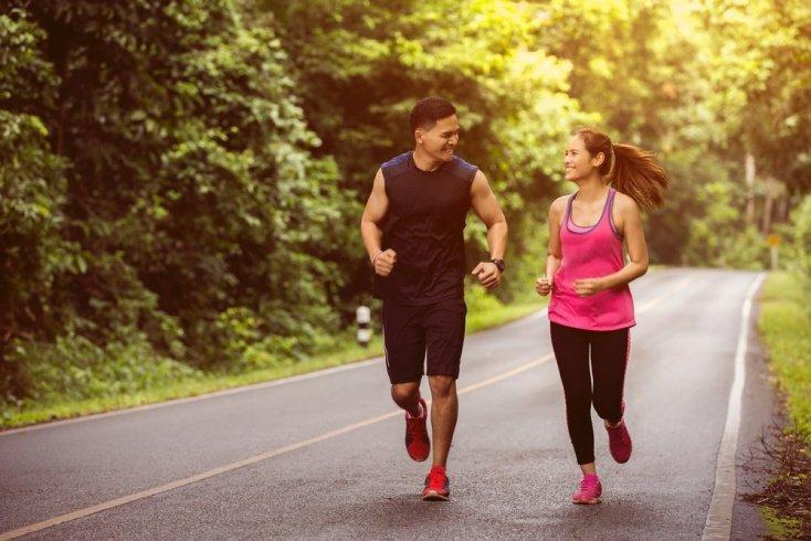 Бег и похудение тела