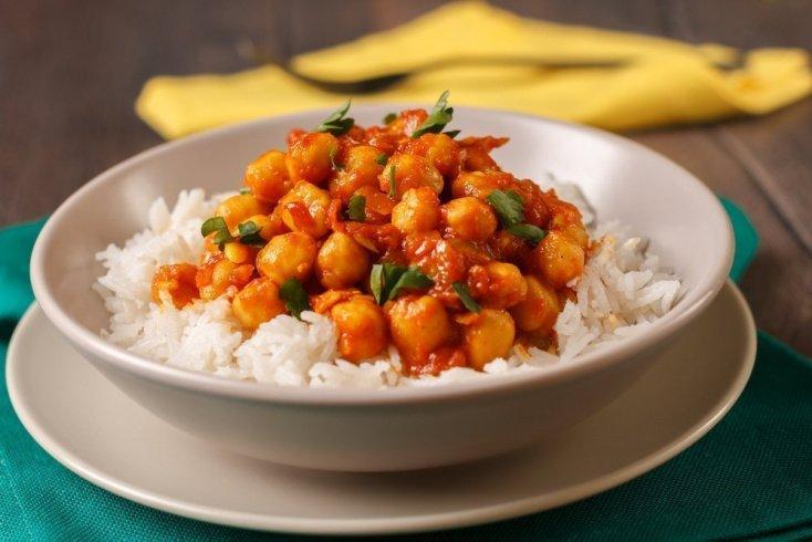 Вегетарианский рецепт карри из Индии