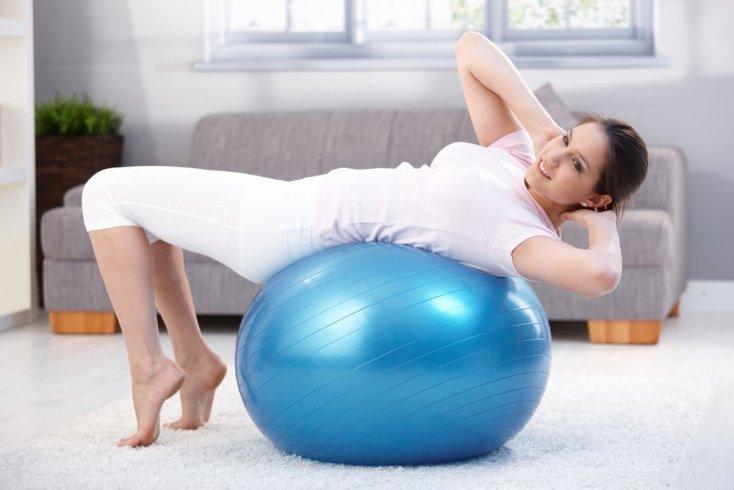Как выбрать гимнастический мяч для похудения?