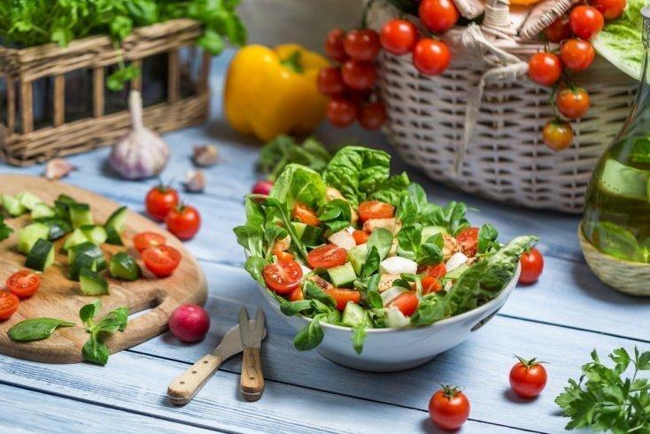 Овощные летние диеты