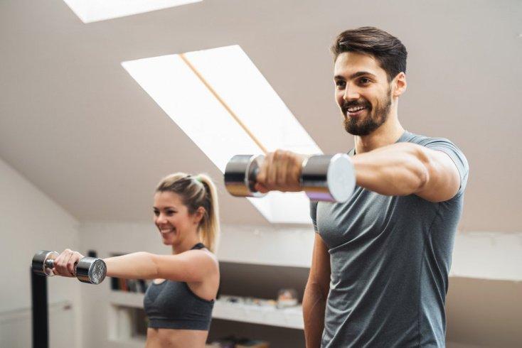 Фитнес-тренировки для грудных мышц