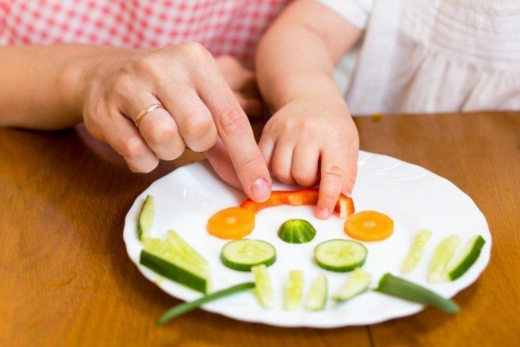 Заботьтесь об оформлении блюд: красота в помощь матери
