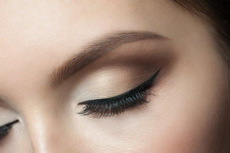 Трафареты для аккуратного макияжа глаз